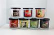 Let the sweet smell of the garden and orchard waft through your house with Bountiful Garden scented candles