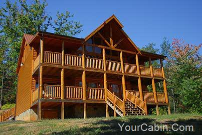 Enjoy more worry less timber tops luxury cabin rentals for Timber tops cabins gatlinburg