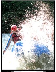 Whitewater river rafting trip near Seattle, WA