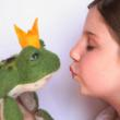 Lullubee helps you find your prince with new Needle Felted Fairytale Frog Kit.