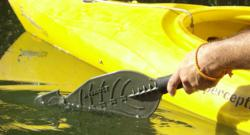 assault hand paddle by backwater paddle company