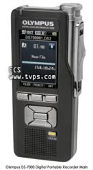 Olympus DS-7000, Portable Voice Recorder, Digital Dictation, Hand Held
