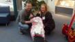 Haevyn arrived at St. Louis Children's Hospital on a stretcher, but left in a stroller.