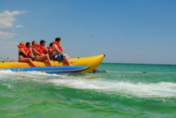 Banana Boat Rides in Panama City Beach, FL