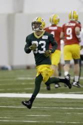 Micah Hyde at rookie camp