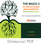 Magic 5 of Email Campaigns that Drive Sales