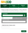SMECO online outage reporting form