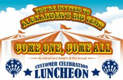 Alexander's 2013 Customer Celebration