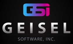 Geisel Software Black Logo