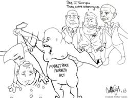 Marketplace Fairness Act Political cartoon