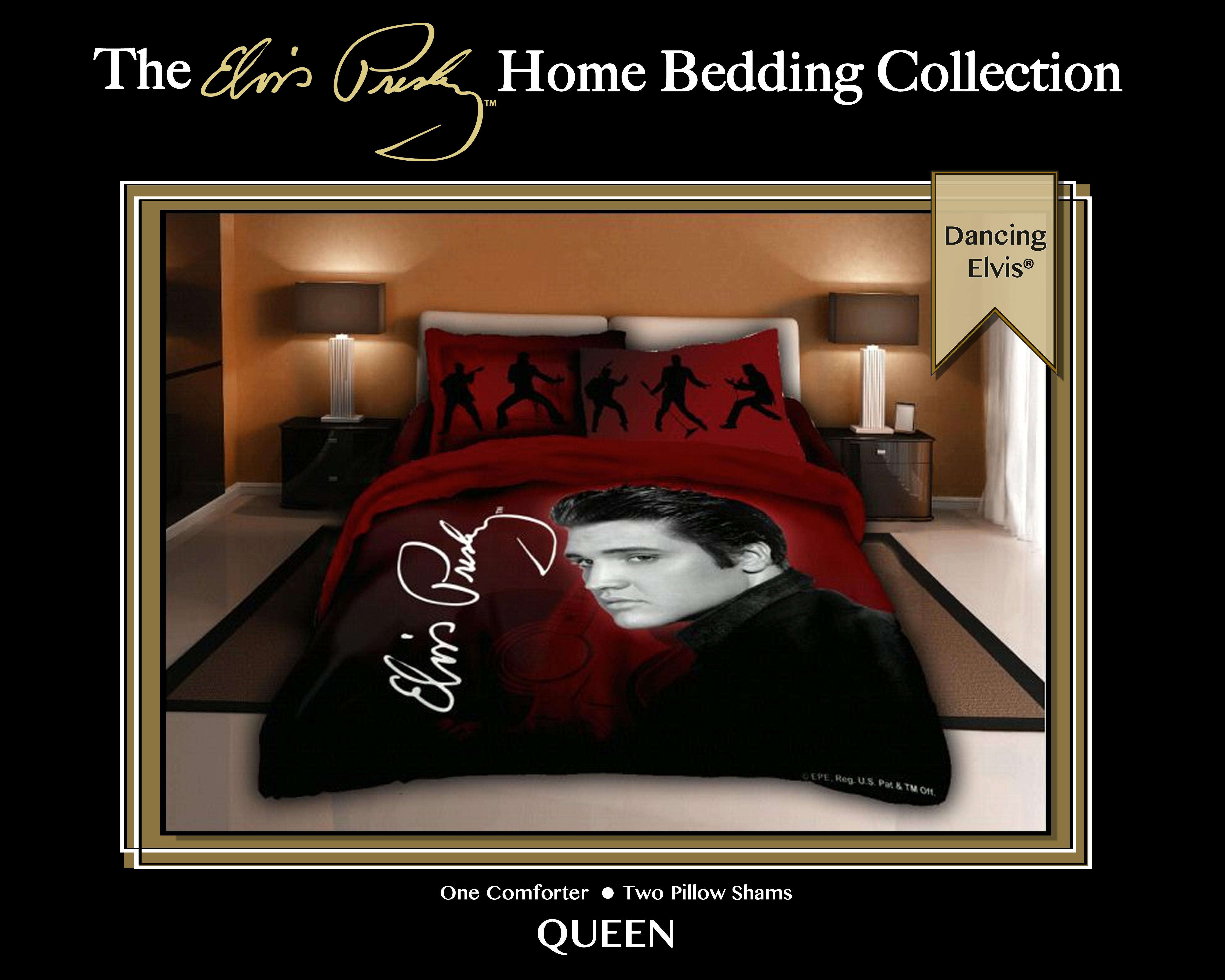 Legends Home Bedding Presents The Elvis Presley 174 Home