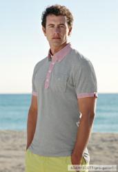 Adam Scott models the Michael Bastian Polo Collection for UNIQLO