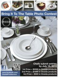 Oneida Foodservice Photo Contest