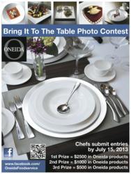 Oneida Foodservice Photo Contest