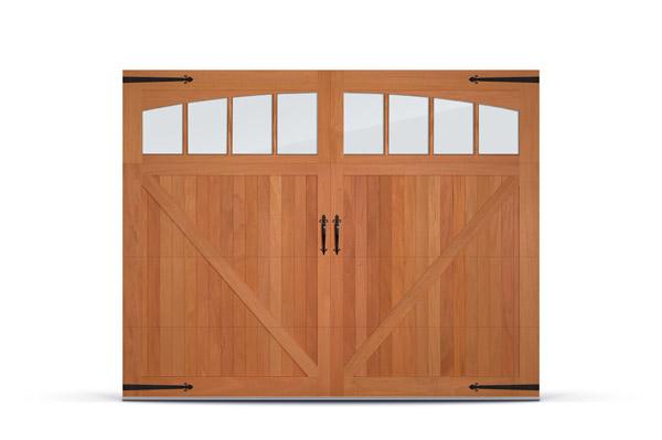 C H I Overhead Doors Adds Fijian Mahogany To Wood Overlay
