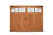 C.H.I. Overhead Doors Adds Fijian Mahogany To Wood Overlay Series