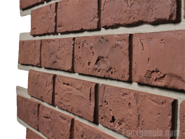 Contributes to a teaching memorial for a for What is brick veneer siding