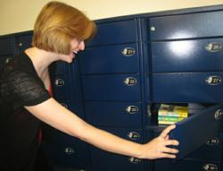 LEID Products Library Hold Lockers