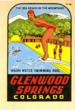 At one time Glenwood Hot Springs was known as Colorado's Sea Beach in the Mountains