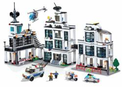 BRICTEK C9698A Police Station 1242 pcs Building Blocks