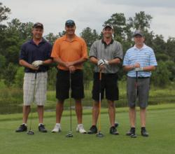 Michael Huth and friends represent Image Foward at Golf Scramble