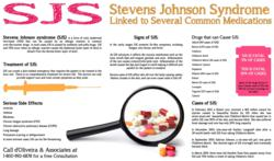Stevens Johnson Syndrome Lawyer SJS Linked to Medications Infographic