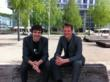 Co-founders Thibaut Weise (CEO) and Brian Amberg (CTO) at Venture Kick