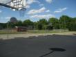 OPES Foundation recently renovated these basketball courts at the school