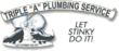 Monte Sereno Plumbers at Triple A Plumbing Announce Service Coupons...