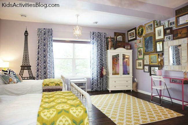 Inexpensive Kids Room Makeover Idea For Families With