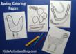 Cute Spring Coloring Pages Have Been Released On Kids Activities Blog