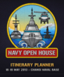 Circus Social created an Itinerary Planner for the Singapore Navy Open House 2013.