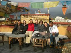 tibet travelers from France, Germany, Italy, UK, Netherlands