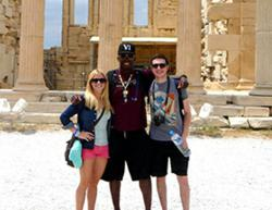 Centenary students on May Module in Greece