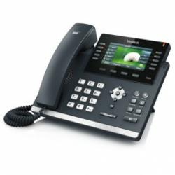 Yealink SIP-T46G Executive VoIP Phone with color screen and programmable keys now available at VoIP Supply