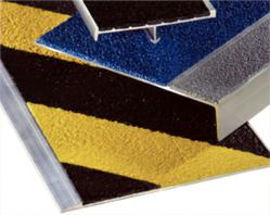 Bold Step treads and nosings meet or exceed recommended values for slip resistance on wet and dry surfaces - photo