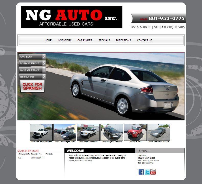 Ng auto inc salt lake city utah automotive dealer for Law motors sioux falls sd