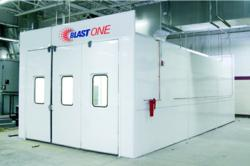 Finishing systems paint booth