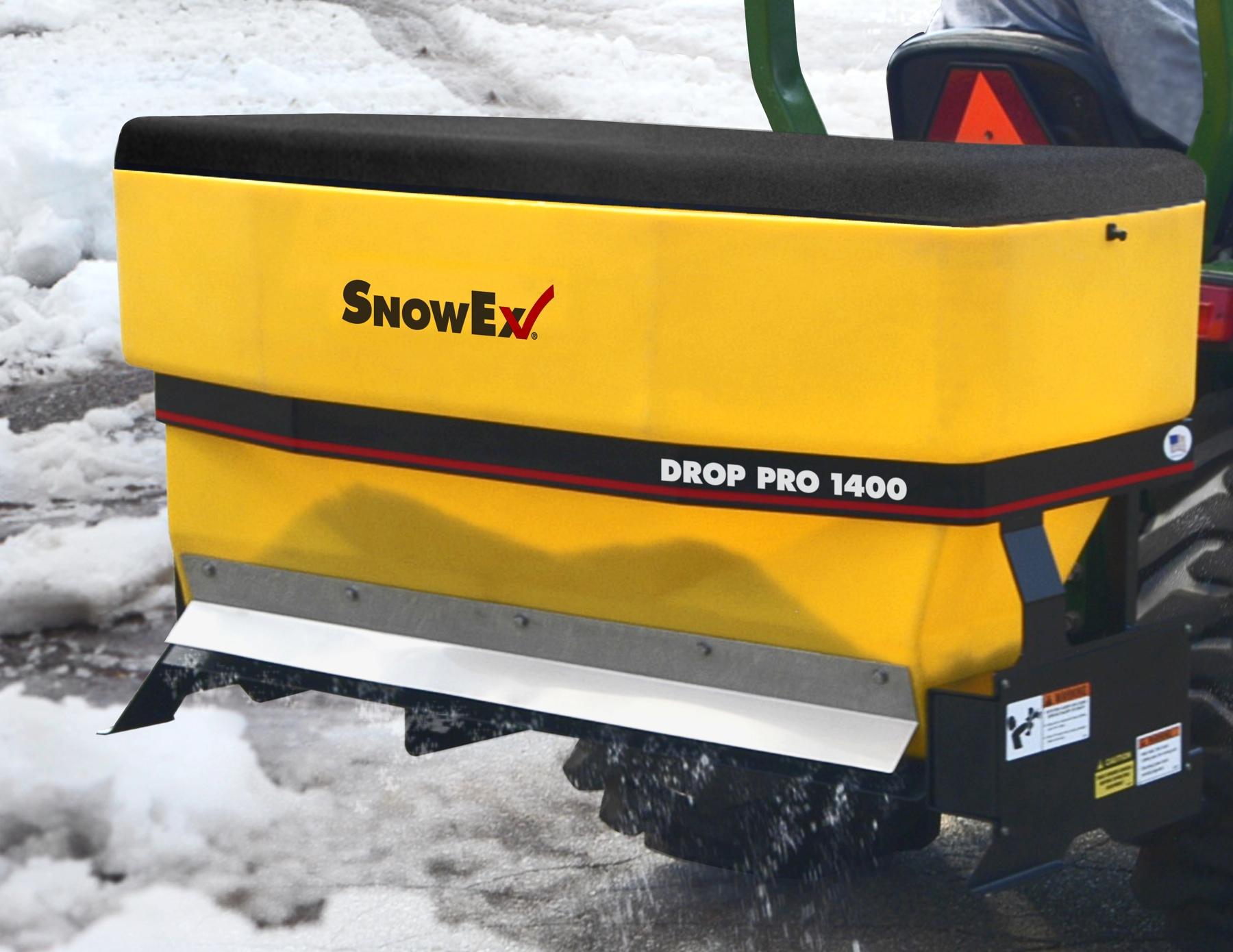 Snowex Introduces Tractor Mounted Drop Spreaders