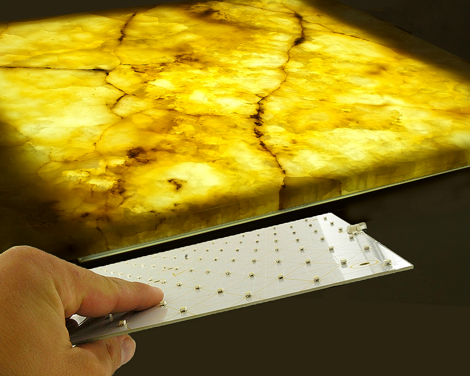 Outwater Introduces Its Tri-Mod LED Backlighting Panels for Translucent Surfaces