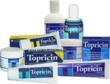 The Topricin line includes original Topricin Pain Cream, Topricin Foot Therapy Cream, and Topricin for Children