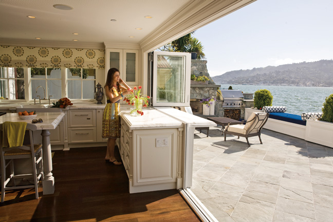 Nanawall systems to exhibit at 2013 pacific coast builders for Transition windows for homes