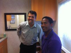 Dr. Bradley Eli with Mike Haynes ppha pro player health alliance sleep apnea