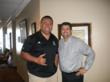 Dr. Bradley Eli with Jesse Sapolu  ppha pro player health alliance sleep apnea