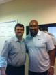 Dr. Bradley Eli with Dermontti Dawson ppha pro player health alliance sleep apnea