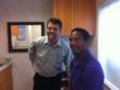 Dr. Bradley Eli with Mike Haynes ppha pro player health alliance sleep apnea