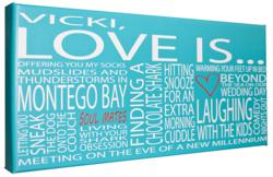 Typography Art -The Perfect Gift