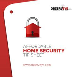 Home Security Tip Sheet