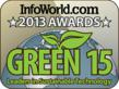 Casella Honored with 2013 Infoworld Green IT Award for Raising Bar on Sustainable Practices