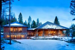 This fully furnished 6,300-square-foot Whitefish, Mont. mountain home on 20+ private acres with breathtaking views will be offered at absolute auction on Tuesday, June 11th at 2:00 p.m. by Grand Estates Auction Company.